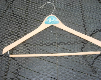Great 1950s High-End Wood Suit Hanger
