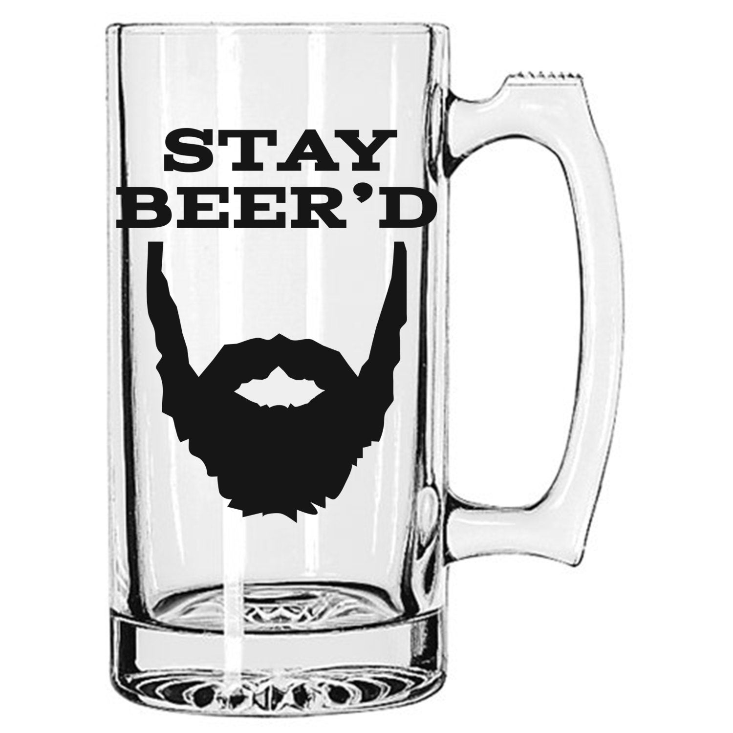 Stay Beer\'d The Original 25 oz Beer Mug beard beer mug