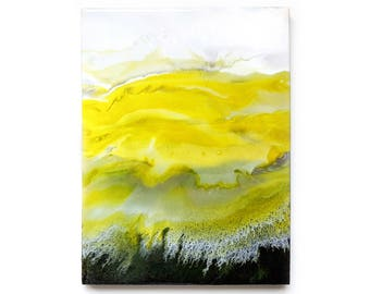 Resin art | Abstract acrylic painting | 30x40cm