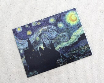 A Starry Night at Wizard School Magnet