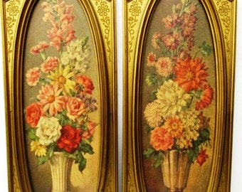 Listing 270 is the set of two cecil rubino vintage artwork wall decor