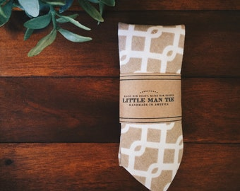 Little Man Tie || Sahara