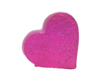 Heart with Glitter Kid Soap- Set of 4