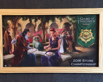 Custom Playmat Frames, Brass Swing Arm Clasp