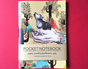 Notebook, Jotter, Mini Sketchbook | Found You There