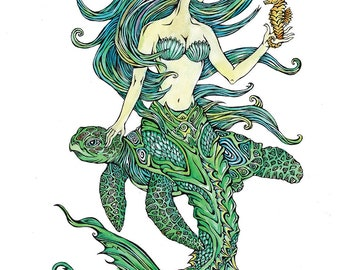 Mermaid With Friends