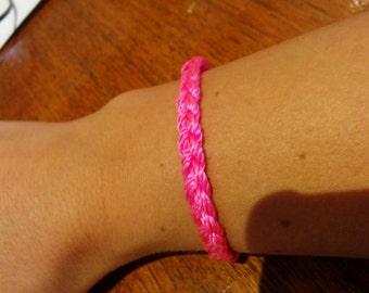 Canadian breast cancer Foundation wristband