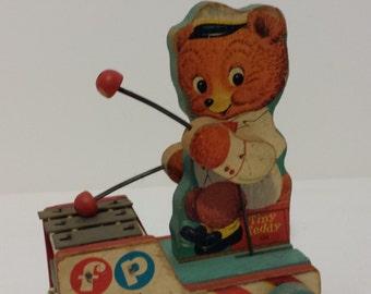 Fisher Price Tiny Teddy