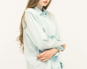 VINTAGE Blue LINDEX Retro Shirt