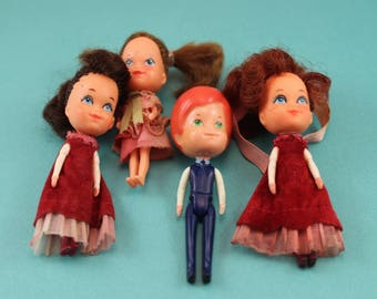 1980's The Littles Family Dolls Mom and Dad