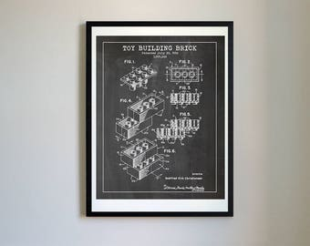 Inventions etsy lego brick 1958 vector blueprint patent prints posters building brick lego malvernweather Choice Image