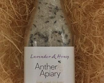 BATH SALTS 230g Lavender & Honey