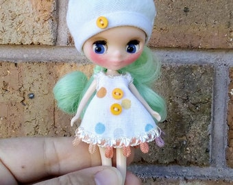 Custom Petite Blythe Doll with outfit