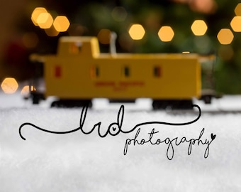 Digital Backdrop/Yellow Passenger Car/Newborn/Baby/Children/Fantasy/Fairy/Tale/Photography/Prop/Winter/Christmas/Lights/Snow/Fake