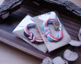Sailor's Knot Bracelets Love (Set of Two)