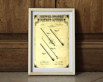 surgical instrument patent 1902 doctor office decor. 1902 Surgical Instrument Patent, Doctor Office Decor, Nurse Gift, Medical Art, Patent Decor P