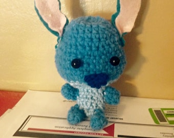 Amigurumi Stitch Inspired Doll