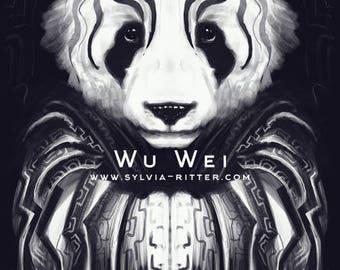 Wu wei -  Signed Giclée Print
