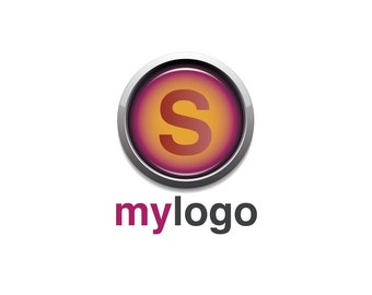 Pre-Made LOGO DESIGN - Customized with Your Name! - S Logo - Modern Logo - Business/Company Logo