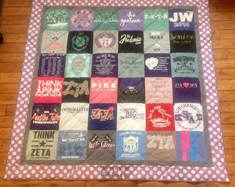 Deposit for a Custom T-Shirt Quilt