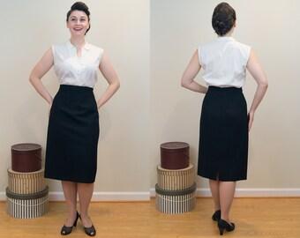 Perfect Vintage Pencil Skirt - Designer Valentino Pencil Skirt - VOLUP DESIGNER PIECE