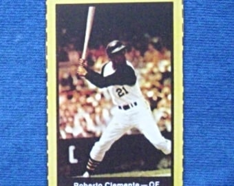 1969 Nabisco Team Flakes #5 Roberto Clemente (Pittsburgh Pirates) RP