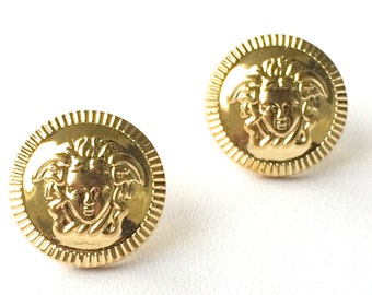 ETHOS Medusa Stud Earrings. FAST Shipping with Tracking if you are in the US. Wrapped in Gift Box w/Ribbon Included.