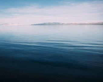 Bear Lake Utah postcard
