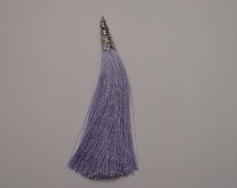 tassel - thin and silky yarn with Silver Cup 9.5 cm (A3)