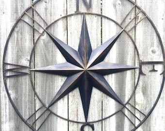 New Compass wall decor | Etsy NA66
