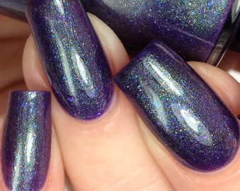 Space Junk - Purple Multichrome Indie Nail Polish