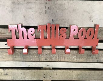 Pool sign, Pool decor, Family pool sign, Personalized family pool sign, Pool decor, Customized family sign, Love pool sign