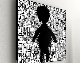 """Depeche Mode - Pain that I'm used to No.1 - 55 x 55 cm (21,6"""" x 21,6"""")"""