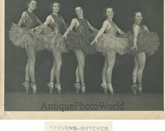Pretty women ballerinas posing antique ballet photo Philadelphia