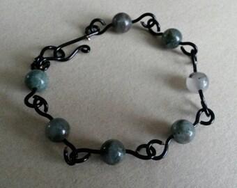 OOAK Bloodstone Bracelet
