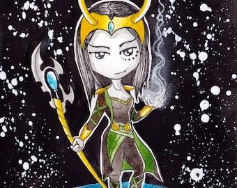 Ana Dess in Loki - Illustration