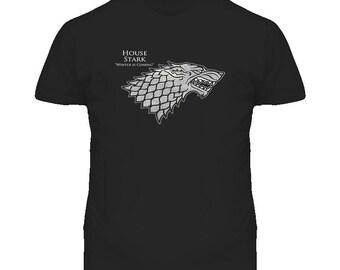 House Stark Game Of Thrones T Shirt