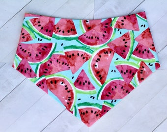 Watermelon / pink / green