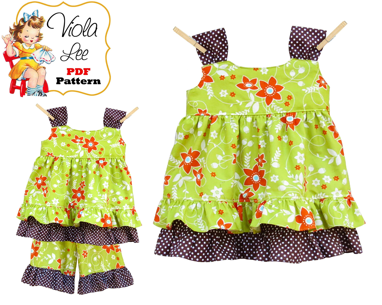 Toddler Dress Pattern pdf sewing pattern Jumper Pattern