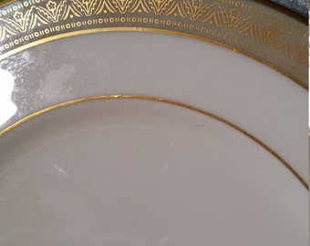 """Lenox Greenfield 8.5"""" Plate, Salad Plate Small Dinner Plate - Made in the USA!"""