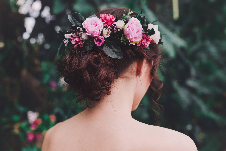 Couronnes de fleurs pour cheveux - Fleuriste couronne de fleurs ...