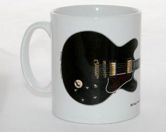 Guitar Mug. BB King's Gibson ES-355 Lucille.