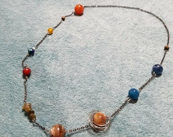 Solar System Necklace or Bracelet