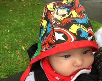 The Marvel Baby/ Toddler Bonnet