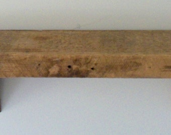 Custom Made Barnwood Wall Shelf