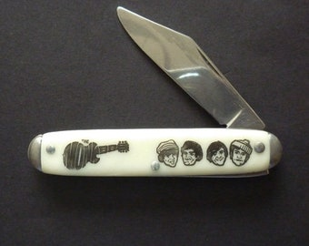 Scarce 1960s Promotional Pocket Knife – 'The Monkees' Pop Band / TV Series