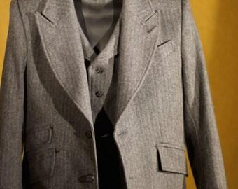 Famous 1920s Style 3pc Suits---In Herringbone Tweed