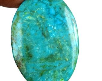 24.05 Ct. Natural Oval Shape Arizona Blue Turquoise Loose Charming Gemstone