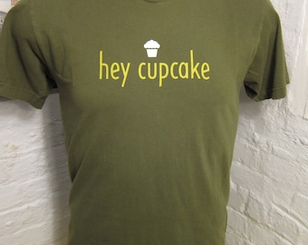 Size S (41) **Hey Cupcake Shirt (Double Sided)
