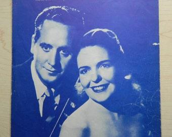 Vintage Sheet Music 'Vaya Con Dios'